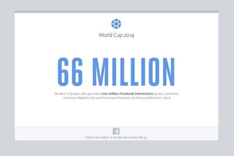 WORLD CUP: Germany's Stunning Rout Of Brazil Results In The Most Facebook Interactions - AllFacebook | screen seriality | Scoop.it