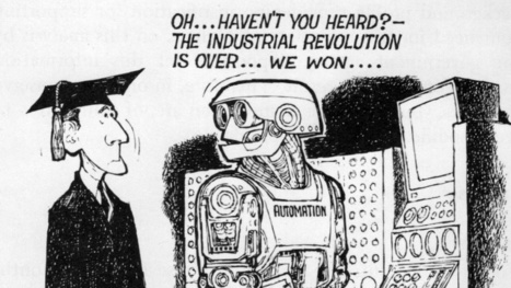 17 Jobs That Robots Were Supposed to Have Stolen By Now | Strange days indeed... | Scoop.it