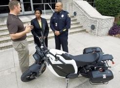 Motorcycle helps police 'go green' | Brammo Electric Motorcycles | Scoop.it