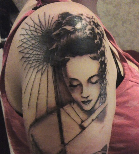 Hình xăm Geisha đẹp 2013 và ý nghĩa hình xăm | anhdanh_90 | Scoop.it