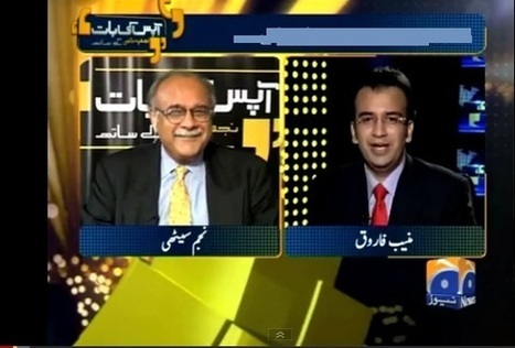 Najam Sethi uses 80-20 mix to dilute Shia genocide in Pakistan|LUBP | parachinarvoice | Scoop.it