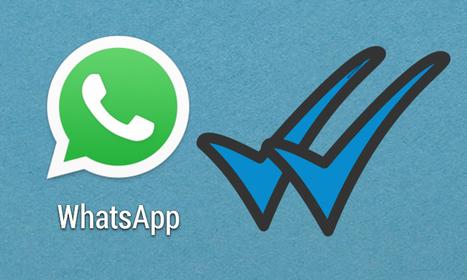WhatsApp añade el doble tick azul como confirmación de mensaje leído   Inbound Marketing en España y Sudamérica   Scoop.it