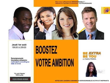 http://BOOSTEZ VOTRE AMBITION | BE EXTRA BE YOU | Scoop.it