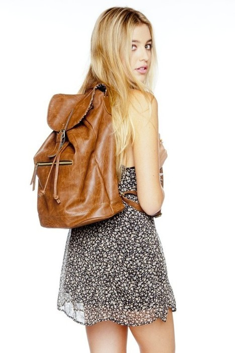 Leather backpack | Brandy Melville Accessories | Scoop.it