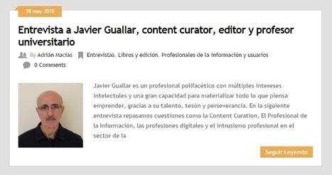 Entrevista en Biblogtecarios sobre content curation | Los Content Curators | Cosas de loscontentcurators | Scoop.it