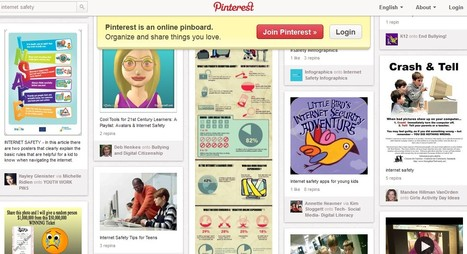 Pinterest :  for internet safety.. | Digital Citizenship for Teens | Scoop.it