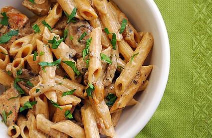 #RECIPE - Creamy Chicken Marsala Pasta   elkhwaga   Scoop.it