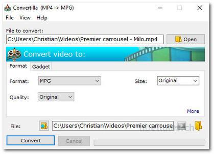 Convertilla - Un petit programmepour convertir des fichiers | Chroniques libelluliennes | Scoop.it