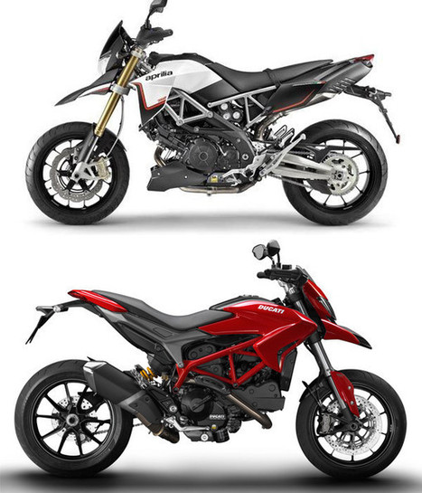Hypermotard and Dorsoduro: A supermoto shoot-out | Ductalk Ducati News | Scoop.it