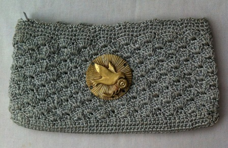 Crochet purse with bomb casings, handmade ethically by blind woman | Le flux d'Infogreen.lu | Scoop.it