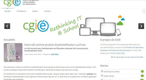 EDUcation | Votre eID comme produit d'authentification LuxTrust | Luxembourg | Luxembourg (Europe) | Scoop.it