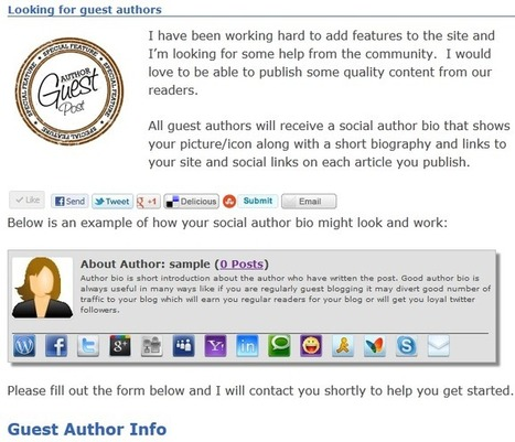 WordPress Author Box: Does my bio look good in this?   Social Media   Scoop.it