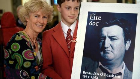 Brendan Behan memorial stamp issued | The Irish Literary Times | Scoop.it