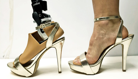 Prosthetic foot designed for really high heels - Futurity | Cyborg Lives | Scoop.it