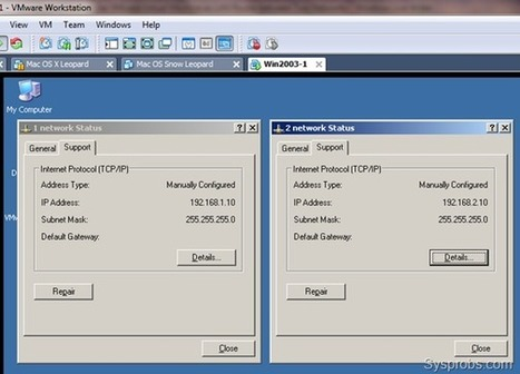 [Guide] How to Use VMware Virtual Machine as LAN Router between Two Networks | microsoft exchange server | Scoop.it