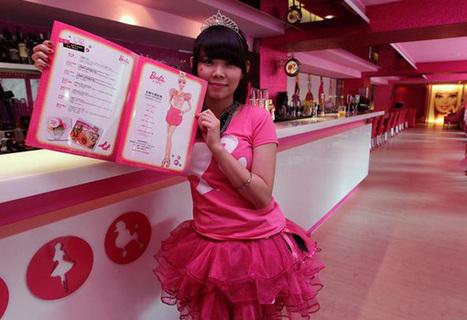 Ouverture du premier café Barbie | Mais n'importe quoi ! | Scoop.it