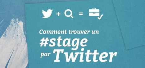 Comment trouver un stage sur Twitter ? - Blog du MMI | Web social | Scoop.it