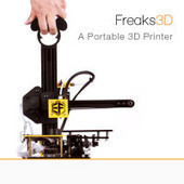 CLICK HERE to support Freaks3D: the World's First Portable 3D Printer | KOILS | Scoop.it