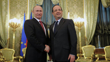 Mali: Hollande remercie Poutine d'avoir soutenu l'opération - Alterinfo | Mali in focus | Scoop.it
