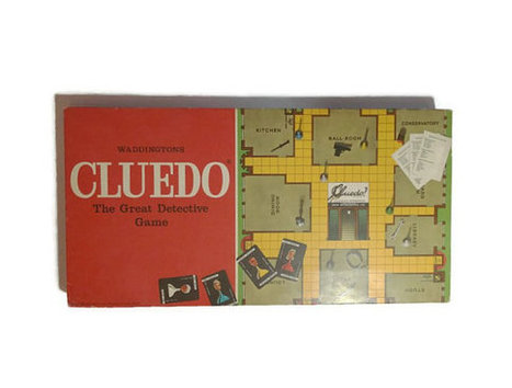 Vintage 1972 Cluedo game | Retrofanattic's articles and items for sale | Scoop.it
