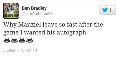 Auburn's Ben Bradley wants Johnny Manziel's autograph | ESPNTMZ | Scoop.it