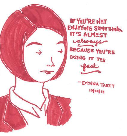 IMAGES: 8 Inspiring Author Quote Illustrations | Skolbiblioteket och lärande | Scoop.it