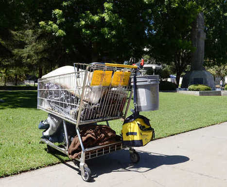 Fresno shopping cart crackdown doesn't sit well with some on the streets | Local News | FresnoBee.com | Police Problems and Policy | Scoop.it