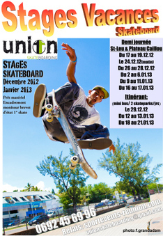 Stages vacances skateboard de l'association LEU SURVIVORS SKATEBOARDING | SPORT EVENTS | Scoop.it