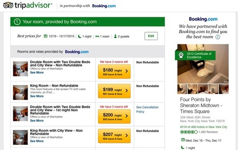 Booking.com Goes Live on TripAdvisor Instant Booking With Pervasive Branding   Tourism Social Media   Scoop.it
