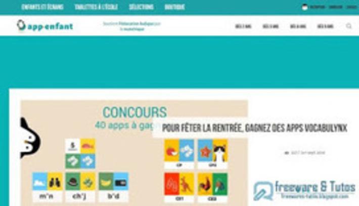 Le site du jour : App-enfant | TIC et TICE mais... en français | Scoop.it