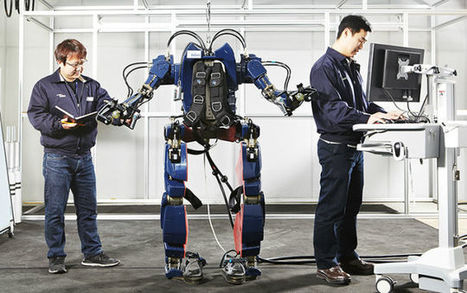 Hyundai's new transportation exoskeleton is less Iron Man and more Aliens | Technoculture | Scoop.it