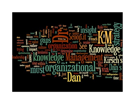 Dr. Dan's Knowledge Management | Dr. Dan's Knowledge Management | Scoop.it