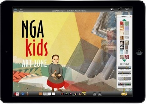 IL Y A 1 AN ... La National Gallery of Art (Washington) lance l'application NGA kids inspirée par sa collection | Clic France | Scoop.it