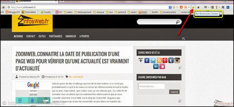 Extension Firefox Bookmarks Checker vérifier  doublons / liens morts dans vos marques pages | François MAGNAN  Formateur Consultant | Scoop.it