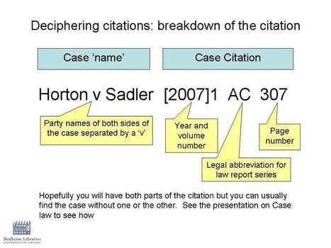 Case Citation in the UK, EU and more... | Yeaaah! Citation Generators and much more :DD | Scoop.it