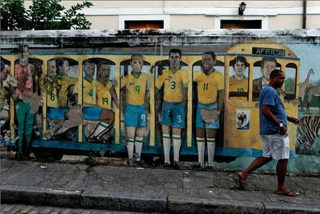 Stunning photos of Brazil's World Cup street art | Culture and Fun - Art | Scoop.it