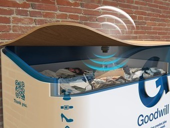 Smart bins make it easy to donate textiles | Behavioral Economics in Action | Scoop.it