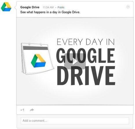 Google añade funciones para compartir contenido de Google Drive en Google Plus   E-Learning, M-Learning   Scoop.it
