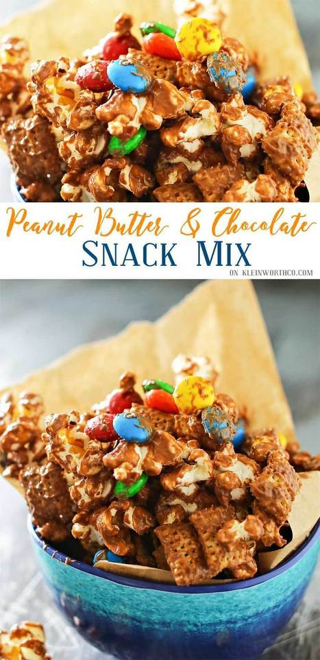 Peanut Butter Chocolate Snack Mix | Passion for Cooking | Scoop.it