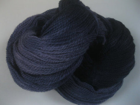 Hand dyed Sussex DK Variegated knitting crochet yarn -'Deepest Darkest Night' | Adventures with Hand Knits | Scoop.it