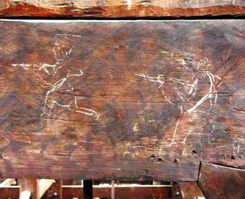 Images drawn by Meiji Era carpenters found at Kyoto's Chionin temple | The Asahi Shimbun | Asie | Scoop.it