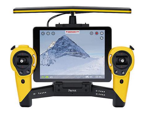 """Parrot lance son nouveau drone le BeBop, une """"caméra volante""""   Drone   Scoop.it"""