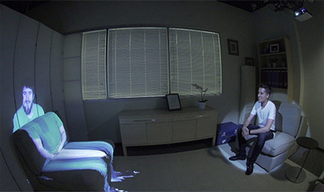 ¿Mejor que Skype? Microsoft quiere proyectar una persona a tamaño natural en tu sofá | TIC, Innovación y Educación | Scoop.it