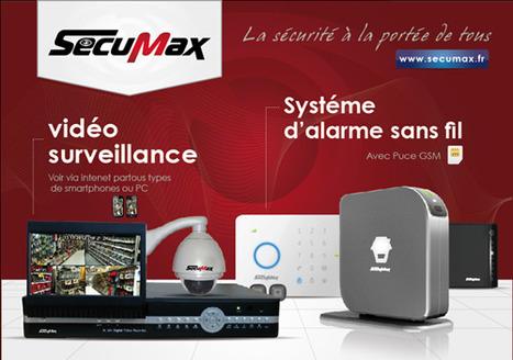 Equipement sécurité-Accessoires sécurité-Vidéosurveillance-secumax | Equipement sécurité et Accessoires sécurité | Scoop.it