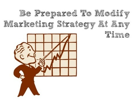 Be Prepared To Modify Marketing Strategy At Any Time | Online Marketing Help Pro | Scoop.it