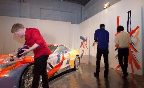 400000$ pour une Corvette 2015 transformée en oeuvre d'art - Autofocus.ca   Detroit   Scoop.it
