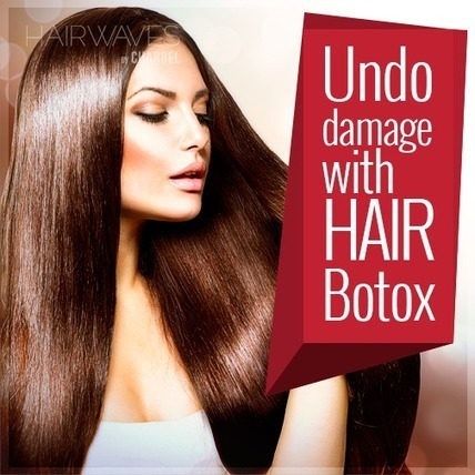Rejuvenate your dry & damaged hair with Hair Botox. Call +97126819579 to fix an appointment | Latest And Trendiest Hairstyling Techniques | Scoop.it