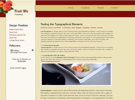 Fruit Mix | Ngoding | Blogger themes | Scoop.it