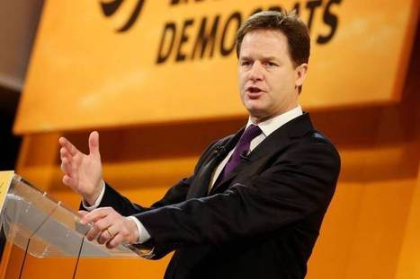 Nick Clegg calls for more diversity in Lib Dems ,must be an election around the corner #NationTraitorClegg | The Indigenous Uprising of the British Isles | Scoop.it