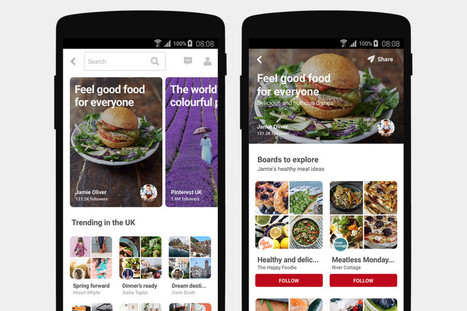 Pinterest rolls out its version of trending topics, called Featured Collections | Pinterest | Scoop.it